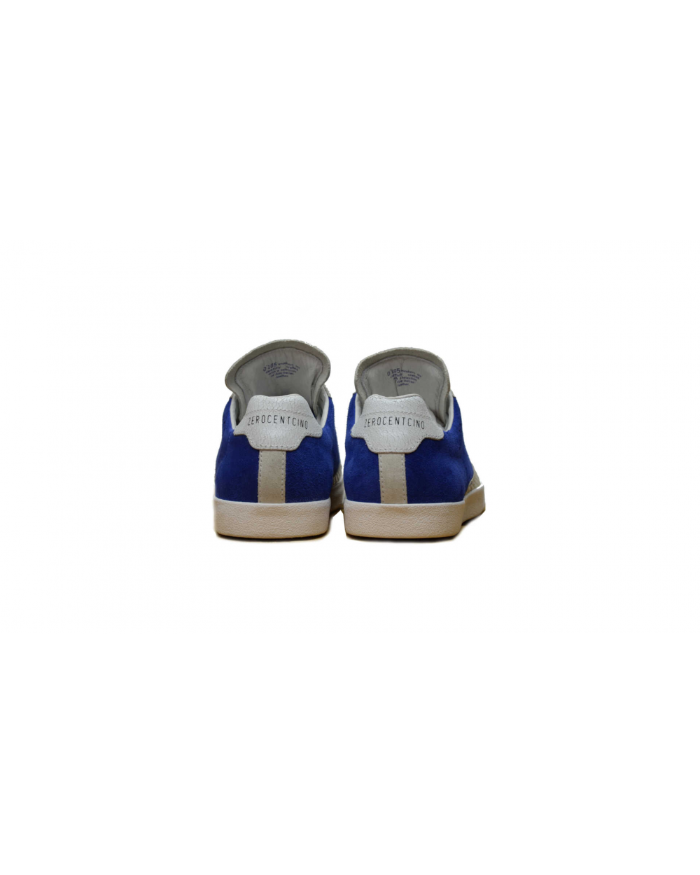 Stan chris suede electric blue